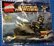 Lego DC Super Heroes Dark Knight Black 30160 Batman on Jetski minifigure NISB