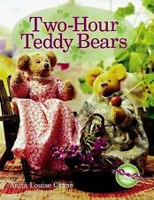 Two-Hour Teddy Bears Crane, Anita Hardcover