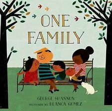 One Family by George Shannon (2015, Picture Book)