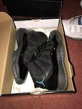Nike Air Jordan 11 XI Retro GS Youth Black Gamma Blue NEW SIZE 5.5Y