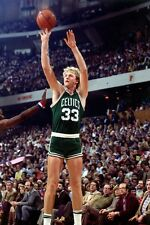 "Larry Bird Basketball Star Fabric poster 36"" x 24"" Decor 18"