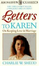 Letters to Karen: On Keeping Love in Marriage (Abingdon Classics Series) ( Shedd