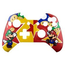 Brand New Xbox One Custom Super Mario Front Shell Hydrodipped by Primzstar Modz
