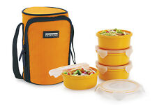 Smart Lock SML-304  Airtight Tiffin Box With Insulated Bag, 4 pc set (VR3035)