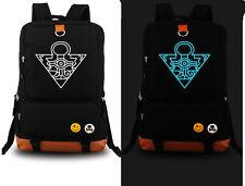 Duel Monsters Yu-Gi-Oh! Anime Black Noctilucence Light Backpack school Bag