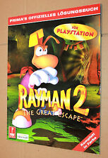 Rayman 2 The Great Escape Playstation offizielles Lösungsbuch / Guide