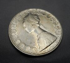 1959 Italy 500 Lire .835 Silver Coin - Giampaoli Renaissance Lady Columbus Ships
