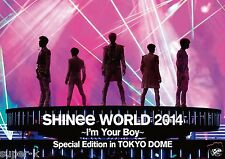 SHINee [SHINee WORLD 2014 ~I'm Your Boy~ Special Edition in TOKYO DOME] 2DVD