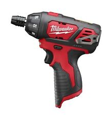 """MILWAUKEE M12  (12 VOLT) 1/4"""" HEX  COMPACT SCREWDRIVER 2401-20  BARE TOOL - NEW"""