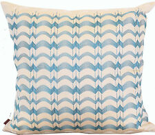 MISSONI EMBROIDERED 100% COTTON SATEEN PILLOW COVER IVA 212  NO FILLING