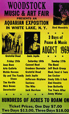 "Woodstock Classic 16"" x 12"" Photo Repro Concert Poster 2"