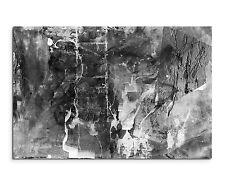 120x80cm Abstrakt_1339 Schwarz Weiß Leiter Painting Malerei Leinwand Sinus Art