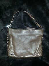 DARK BROWN AUTHENTIC COACH PURSE LIKE NEW!!
