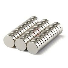 11 Pieces LOT of 10mm x 2mm Round Strong Rare Earth Neodymium Magnets N52