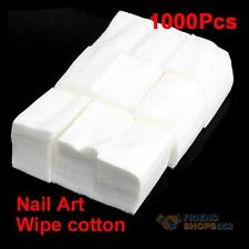 1000 Wipe Cotton Wipes For Nail Art Makeup Polish Acrylic Gel Tips Remover #F8s