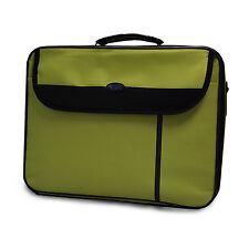 "15.6"" WIDESCREEN LAPTOP BAG NOTEBOOK CARRY CASE SHOULDER STRAP GREEN"