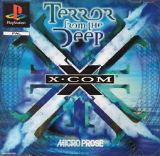 X-COM: Terror From The Deep (Sony PlayStation 1, 1996) mit Handbuch