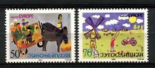 Yugoslavia 1985 SG#2240-1 Joy Of Europe, Childrens Drawings MNH Set #A33200
