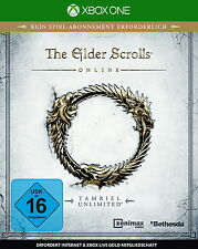 The Elder Scrolls Online: Tamriel Unlimited - Xbox One - deutsch - Neu / OVP
