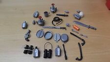 Vintage Action Man 70 / 80s stove dynamite cutlery water bottle + more job lot