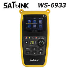 2017 Satlink WS-6933 DVB-S2 FTA C&KU Band Digital Satellite Signal Finder Meter