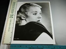 Rare Original VTG Period Movie Star Actress Bette Davis Eyes Headshot Photo