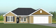 52x54 House -- PDF Floor Plan -- 1,735 sq ft -- Model 1