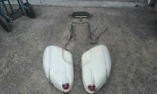 HARLEY PANHEAD SHOVELHEAD BUCO SADDLEBAGS WITH BRACKETS AND BACKREST
