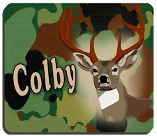 CAMOUFLAGE AND DEER  PERSONALIZED MOUSE PAD TOP QUALITY