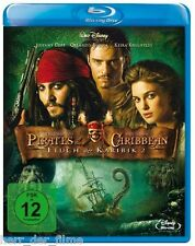 PIRATES OF THE CARIBBEAN, Fluch der Karibik 2 (2 Blu-ray Discs) NEU+OVP