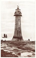 NEW BRIGHTON MERSEYSIDE UK THE LIGHTHOUSE PHOTO POSTCARD 1920s