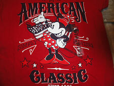 XS Size 4 Minnie Mouse American Classic Red Disney Store Tee NWT