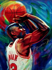 Michael Jordan Chicago Bulls NBA Basketball Quality Print Wall Poster 24X32 Inch