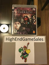 Folklore Complete PS3 (Sony PlayStation 3, 2007)