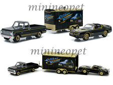 GREENLIGHT 51005 HITCH & TOW MOVIE TRAILER SMOKEY & THE BANDIT TRANS AM 1/64 SET