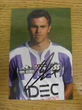 circa 2000's Autograph: Toulouse - Elmander, Johan [Hand Signed Glossy Photograp