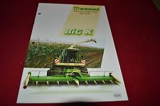 Krone Big X Precision Chop Forage Harvester Dealers Brochure GDSD2