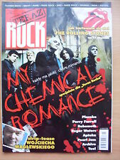 TERAZ ROCK 7/2007 MY CHEMICAL ROMANCE,Rolling Stones,Placebo,Roger Waters,Tool