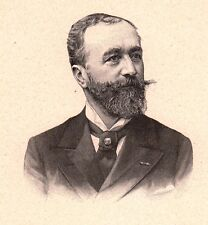Portrait Abel Combarieu Cahors Lot Homme Politique Troisième République
