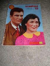 CINEROMANZO,SCAMPOLO 53,MARIA FIORE,HENRY VIDAL,PAOLO STOPPA,BIANCHI 1956