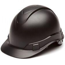 Pyramex Ridgeline Graphite Pattern Hard Hat 4 Point Ratchet Suspension 22017