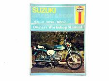 HAYNES SUZUKI 1967 ON B120 B100 118CC TWO STROKE SHOP MANUAL (#452 & 453)