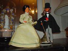 poupées de Peynet Technigom George Sand et Alfred de Musset