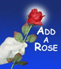 Appearing Rose from Silk - Flower Magic - Add A Rose - Stage Magic