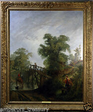 Sir Augustus Wall Callcott Landscape 18th Century ENGLISH Oil Painting