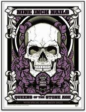 QUEENS OF THE STONE AGE & NINE INCH NAILS Perth 2014 Screenprint! #Hydro74