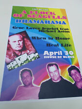 """A FLOCK OF SEAGULLS Concert Poster 80'S LIVE San Diego House of Blues 11""""x17"""""""