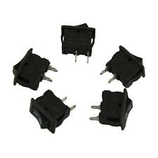 5 AC 250V 3A 2 Pin ON/OFF I/O SPST Snap in Mini Boat Rocker Switch Free Shipping
