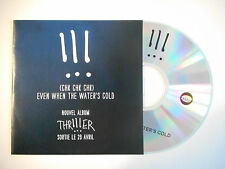 !!! ( CHK CHK CHK ) : EVEN WHEN THE WATER'S COLD ♦ CD SINGLE PORT GRATUIT ♦