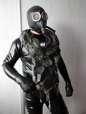 Extremely rare, collectible SOVIET BLACK IP 5 REA-BREATHER   GAS MASK